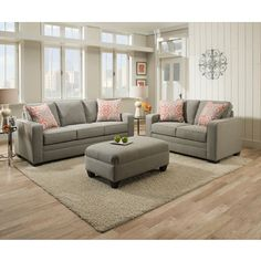 I like this color and style of couch. Would prefer green accents and dark floors