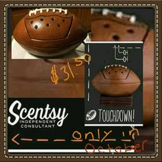 TOUCHDOWN no longer on sale, but still available ($35.00) ORDER ONLINE ~ SHIPS DIRECT  https://spollreisz.scentsy.us