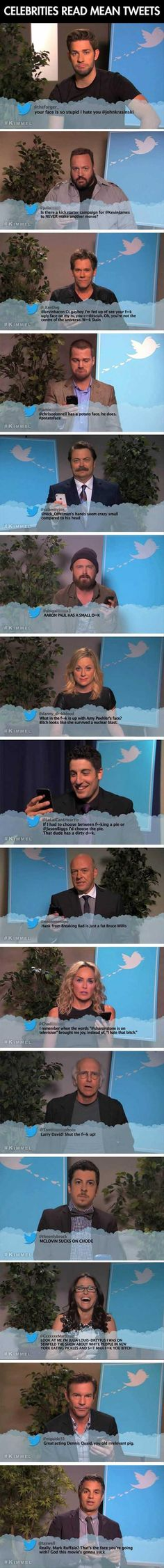 15 Celebrities Reading Mean Tweets Is Funnier Than It Sounds