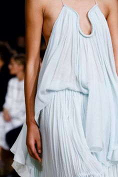 Favorite Silhouette (Chloe spring 2015 ready-to-wear}