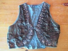 Carole Little Vest Size L
