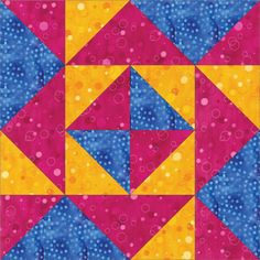 Free Quilt Pattern. The Blockade Block utilizes the GO! Value Die (55018) and…