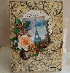 Vintage PARIS A5 Notebook Handmade Wedding Planner GIFT Birthday Photo Diary | eBay
