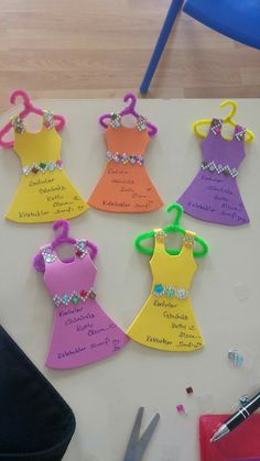 DIY Inviation Girls (Dress Up, Fashion, Make Over) Party. With tiny teen doll clothes hangers .