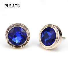 PULATU 7 Color 11mm Round Crystal Stud Earrings for Women Trendy Rose Gold Color Earring Fashion Jewelry XK1155  // Price: $US $0.45 & FREE Shipping //  Buy Now >>>https://www.mrtodaydeal.com/products/pulatu-7-color-11mm-round-crystal-stud-earrings-for-women-trendy-rose-gold-color-earring-fashion-jewelry-xk1155/  #OnlineShopping