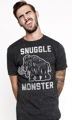 snuggle monster ~ every girl wants one...well, at least this girl does