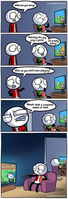 If Someone Doesn't Understand E-Sports Please Make Them Read This Comic http://chzb.gr/1QtLI3u
