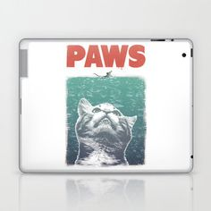 @Elise Loeb #jaws #cool #cat #paws #laptop