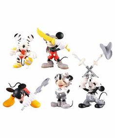 VINYL COLLECTIBLE DOLLS / UDF ミッキー・マウス(Roenコレクション)全5種セット 【Disney(ディズニー)】(フィギュア)