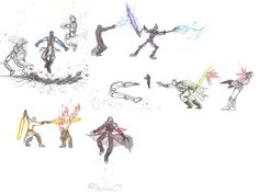 The Force unleashed sketches by moptop4000.deviantart.com on @DeviantArt