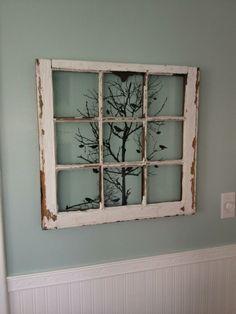 Old window decoration