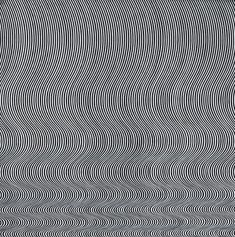 Bridget Riley Fall, 1963  Emulsion on Hardboard, 551/2x551/4 in