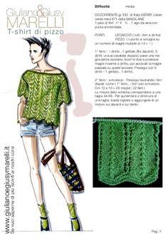 T-shirt di Read more about ferri, maglie, pizzo, legaccio, prosegui and lavora.