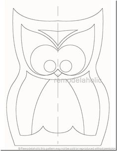 free owl pillow pattern