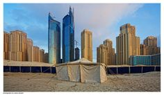 Dubai — Al Fattan Tower and Oasis Beach Tower in JBR ♥ REPIN, LIKE, COMMENT & SHARE! ♥