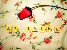 Des fois le Scrabble peut être amusant , ça peut me servir a te dire : je t'aime ❤️:)