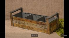 New Country Primitive Antique Ruler Yardstick Tool Box Wood Caddy Basket Ruler Crafts, Craft Stick Crafts, Craft Ideas, Wood Tool Box, Wood Tools, Repurposed Wood, Salvaged Wood, Yard Sticks, Wooden Ruler
