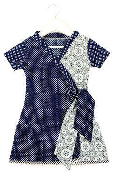 Wrap around dress - love it!