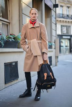 Winter Street Style Outfits That'll Make You Want to Bundle Up | StyleCaster