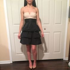 Bcbg dress Worn once! Great condition.. Will be steamed before shipped BCBGMaxAzria Dresses
