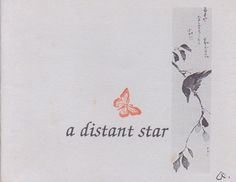 """#Share #Book of the Week: """"a distant star"""" by Anita Sadler Weiss #haiku #poetry"""