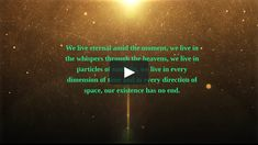 alexis karpouzos come from the depths of infinity and from all directions of space-time. Every atom in you comes from a different star, every cell are made of celestial radiation. Space Time, Infinity, Poetry, In This Moment, Celestial, This Or That Questions, Meditation, Community, Stars