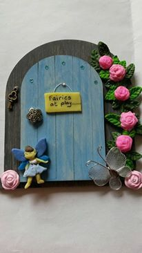 Fairy Door fairy house fairy accessories by magikallittlethings