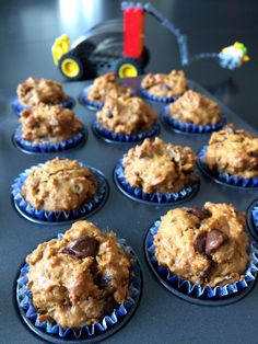 Mini muffins dattes et mélasse - Famille et tofu
