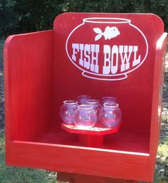 Carnival shooting gallery shooting gallery with gun and for Target fish bowl