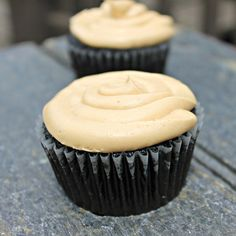 Peanut Butter Frosting is so so yummy! I used dark choco almond milk!
