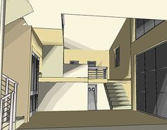 """Check out new work on my @Behance portfolio: """"House in eastern Crete"""" http://be.net/gallery/32411101/House-in-eastern-Crete"""