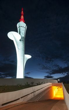 Brasilia Digital TV Tower, Oscar Niemeyer by @Leandro Amato Amato Amato Discaciate, via Flickr
