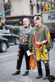 STYLE DU MONDE / New York Fashion Week FW 2015 Street Style: Cailli and Sam Beckerman  // #Fashion, #FashionBlog, #FashionBlogger, #Ootd, #OutfitOfTheDay, #StreetStyle, #Style