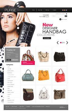 Handbag Boutique PrestaShop Themes by Delta