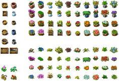 RPG Maker VX - Flowers and Pots by Ayene-chan on DeviantArt