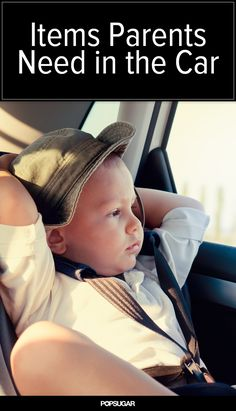 The 15 Essential Items Every Parent Needs in Their Car
