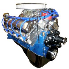 351 Cleveland Stroker Crate Engine With 500HP That's what it's going to look like one day ha