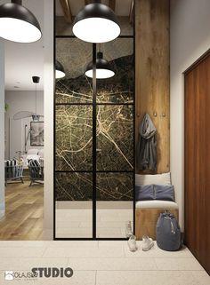 przedpokój-szafa z lustrami - zdjęcie od MIKOŁAJSKAstudio - Biuro - Styl Eklektyczny - MIKOŁAJSKAstudio