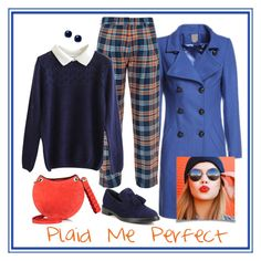 Plaid! by briaryzombie on Polyvore featuring polyvore fashion style House of Holland Burberry Emilio Pucci Kate Spade clothing