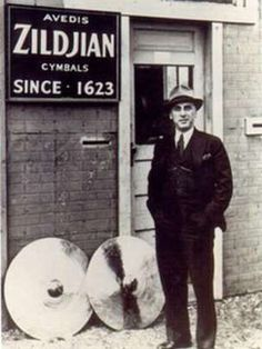 A household name these days, radical for his time-- Avedis Zildjian