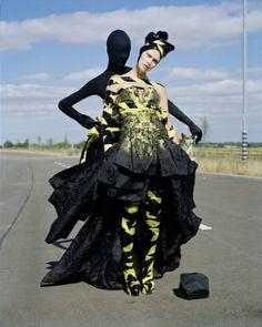 Malgosia Bela & Laura Mccone, Cambridgeshire, UK, 2010, Italian Vogue