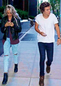 Harry and Lou, both gorgeous as always! -E