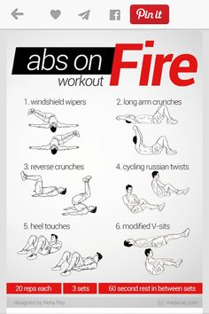 Easy exercises for a flat stomach