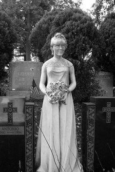 Green-Wood Cemetery Brooklyn - The Bride by Whiskeygonebad, via Flickr