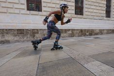 "Increase muscle strength, tone and endurance of the hips, thighs and buttocks leading to longer strides and more powerful skating with the Rollerblade ""Hips and Thigh Workout"". Rollerblading Workout, Thigh Exercises, Roller Skating, Sharks, Warriors, Blade, Thighs, Strength, Glow"