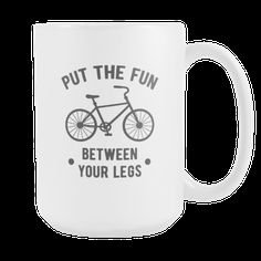 [product_style]-Mug Cycling Cycling Gifts - Between your legs mug - Cycling Mug Cycling Coffee Cup (15oz)-Teelime