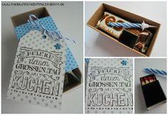 made with love by kme: Eine Kleinigkeit ...
