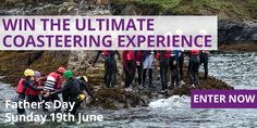 Win the Ultimate Coasteering Experience - http://www.competitions.ie/competition/win-ultimate-coasteering-experience/