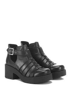 Windsor Smith - Scarpa con tacco - Donna - Scarpa con tacco in pelle con…