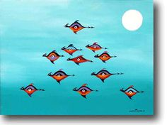 Comedian Jonathan Winters is a Painter - Gallery | eBaum's World